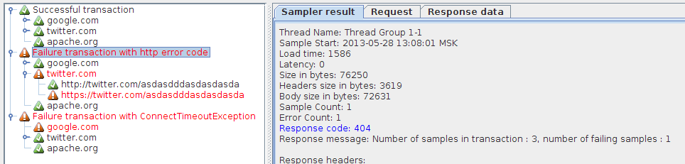 54985 – Make Transaction Controller set Response Code of